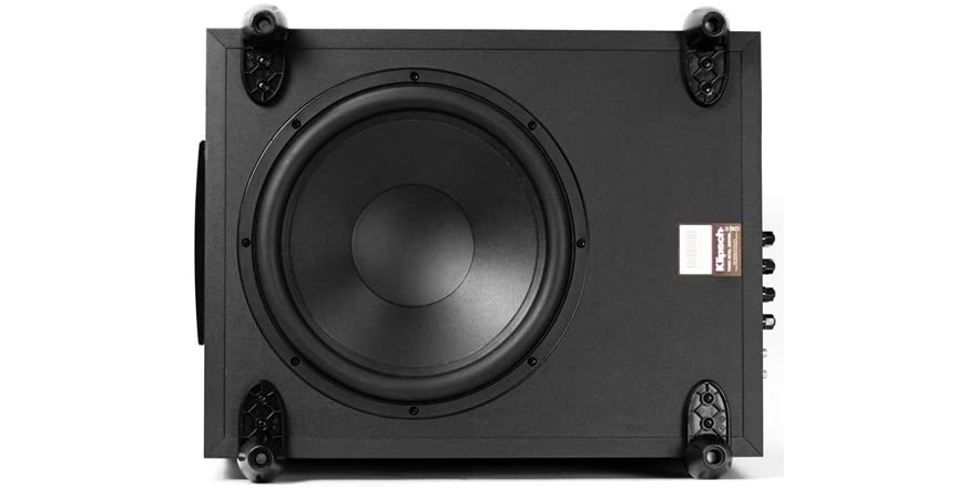 how to connect klipsch subwoofer