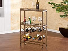 Arabesque Wine Storage Bar