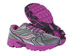 Saucony Cohesion 6 Lace Girls Running Shoes (11W)