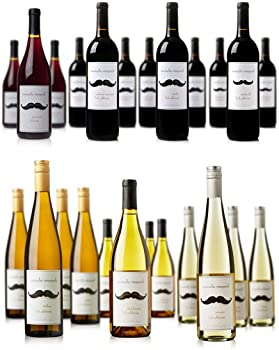 Mustache Vineyards 12-Pk. Case (Red/White)