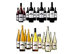 Mustache Vineyards 12-Packs: Red or White