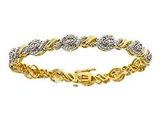 0.25cttw Diamond Bracelet