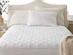 400TC 100% Cotton Quilted Mattress Pad