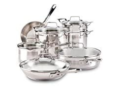 Emeril by All-Clad Stainless 12-pc. Cookware Set