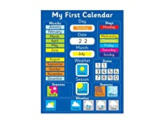 Fridge Magic Magnetic Learning Calendar