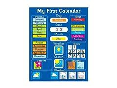 Fridge Magic Magnetic Learning Calendar
