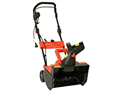 "Maztang MT-988 13A Electric Snow Blower, 18"" Red"
