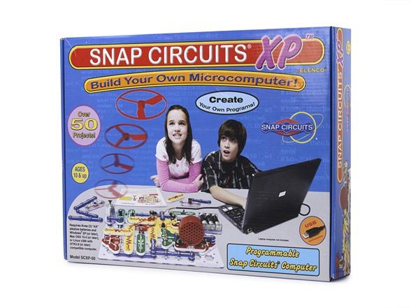 snap circuits xp build a microcomputer!Elenco Electronics Snap Circuits Xp Build Your Own Microcomputer #4