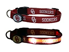 University of Oklahoma LED Collar - Med