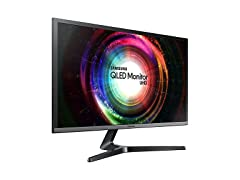 "Samsung 28"" 4K Ultra-HD QLED Monitor 1ms"