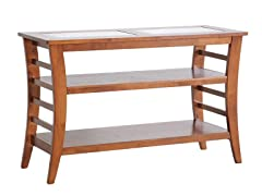 Allison Console Table w/Glass Inlay