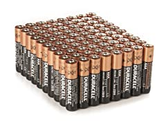 AAA Alkaline Batteries - 80 Pack