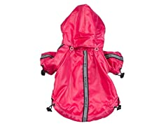 Hot Pink Reflecta-Sport Rainbreaker