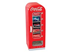 Coca-Cola® Retro 10-Can Vending Fridge