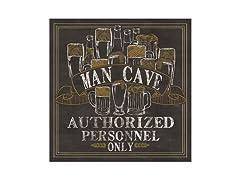 Man Cave Coasters- Set of 4