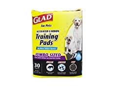Glad Jumbo Size Training Pads (3-Pack)