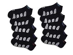 FILA Men's No Show Socks (10 Pack)