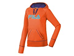 Fila Performance Hoody - Orange/Blue