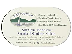 BAR HARBOR SARDINE FILLET SMKD..