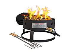 Camp Chef Sequoia Fire Pit w/ Carry Bag Black