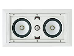 SpeakerCraft AIM LCR 3 In-Wall Speaker - Each (White)