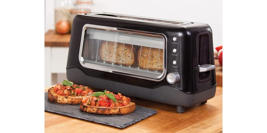 Dash Clear View Toaster Your Choice