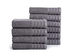 Hydro Cotton Bath Towels- 10 Pack