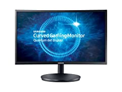 "Samsung 24"" Curved Full-HD Gaming Monitor"