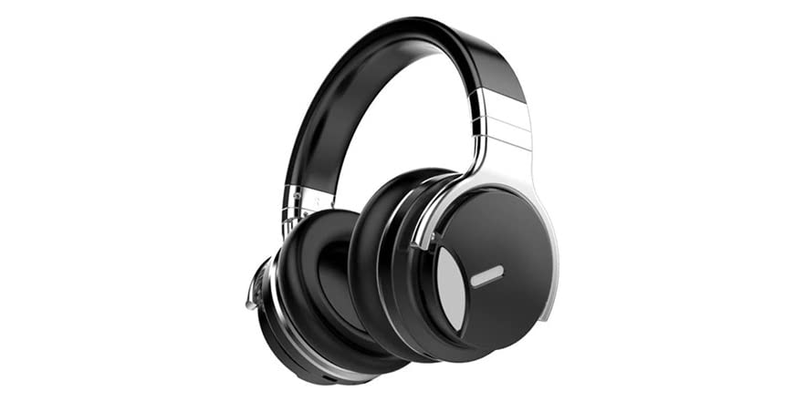 Cowin Max Series E7S Noise Cancelling Bluetooth Headphones (Black) | WOOT