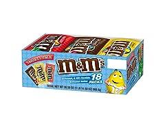 M&M'S Variety Pack, 18ct