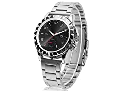 Bluetooth Smartwatch with Stainless Steel Strap