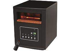Lifesmart 1,000 Sq. Ft. Infrared Heater - Black