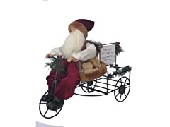 "20"" Wine Wagon Claus"
