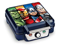 Avengers 4-Slice Waffle Maker