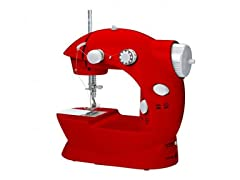 Mini Sewing Machine Red