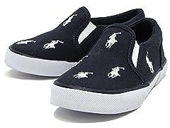 POLO Navy Canvas w/White Pony Sneakers