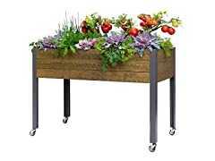 CedarCraft Elevated Spruce Planter