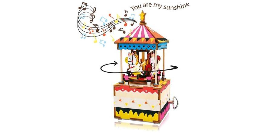 DIY 3D Music Box Kit, Your Choice   WOOT
