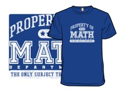 The Math Department Counts!