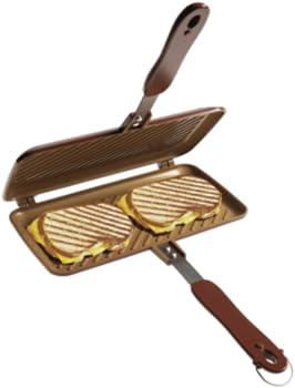 Red Copper Kitchen Sandwich Maker
