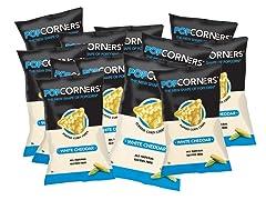 PopCorners White Cheddar Corn Chips 12Pk