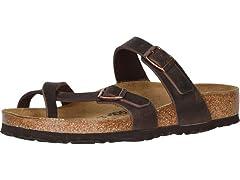 Birkenstock Mayari Oiled Leather Sandals (Open Box)