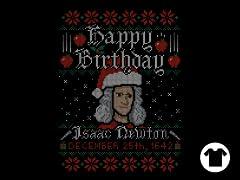 Newton's Birthday Sweater
