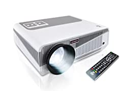 Pyle HD Hi-Res Smart Projector w/Dual Core Android CPU