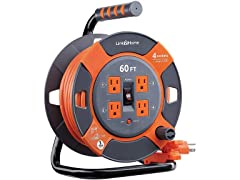 Link2Home 60' Extension Cord Reel