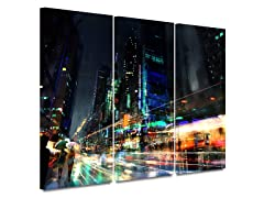 Philip Straub Night City 3 3-PC Canvas