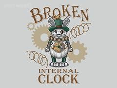 Broken Internal Clock
