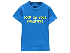 Boys Toddler Tee - Lock Up Your Daughters (2T-4T)