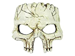 Forum Novelties Unisex Adults Half Mask Foam Skull