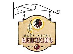 Washington Redskins Vintage Tavern Sign